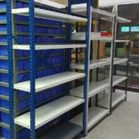 Bolt Less T Shelving